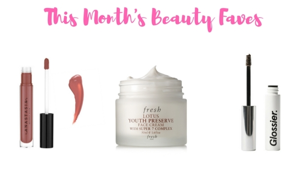 This Month's Beauty Faves